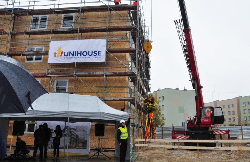 Pionierski projekt mieszkaniowy Unihouse na rodzimym rynku