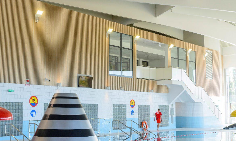 Firma Łąccy dostarczyła do słupskiego aquaparku panele ze sklejki