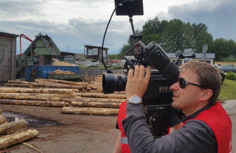 Jedyny taki film opolskim przemyśle drzewnym