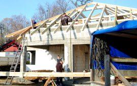 Konstrukcje dachowe montowane wdwa dni