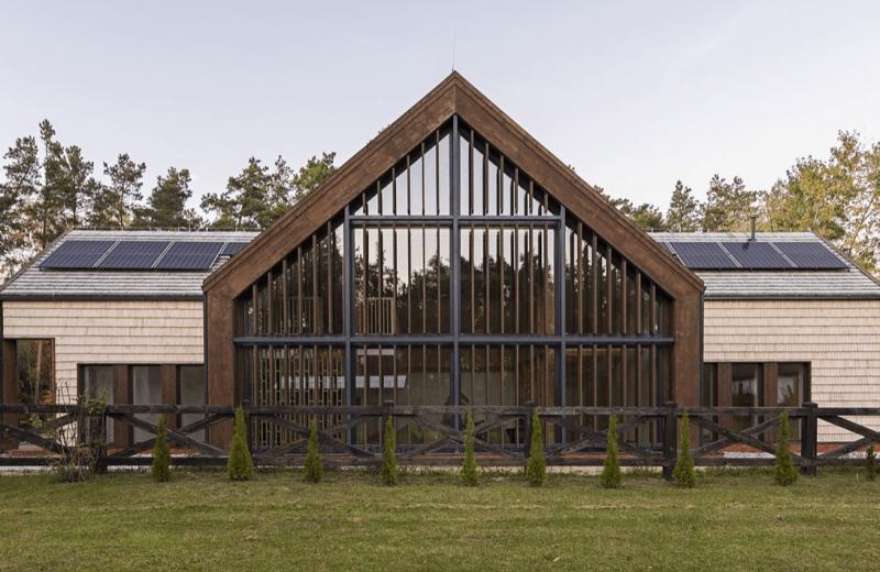 Wyjątkowy budynek otwartego Centrum Promocji Drewna