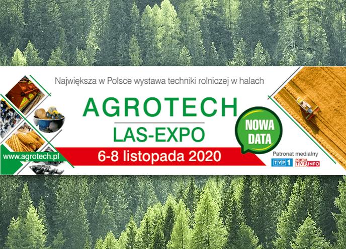 Nowy termin targów AGROTECH i LAS-EXPO