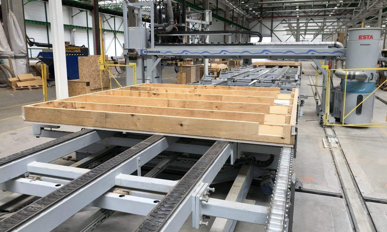 Uruchomiono III linię prefabrykacji drewnianej w Czarnkowie