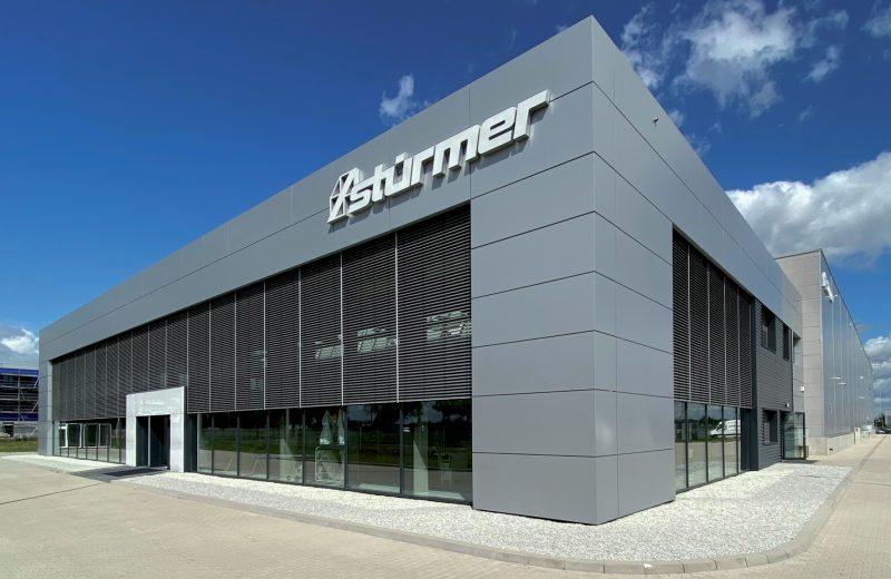 Już otwarty nowy salon wystawowy Stürmer Maszyny