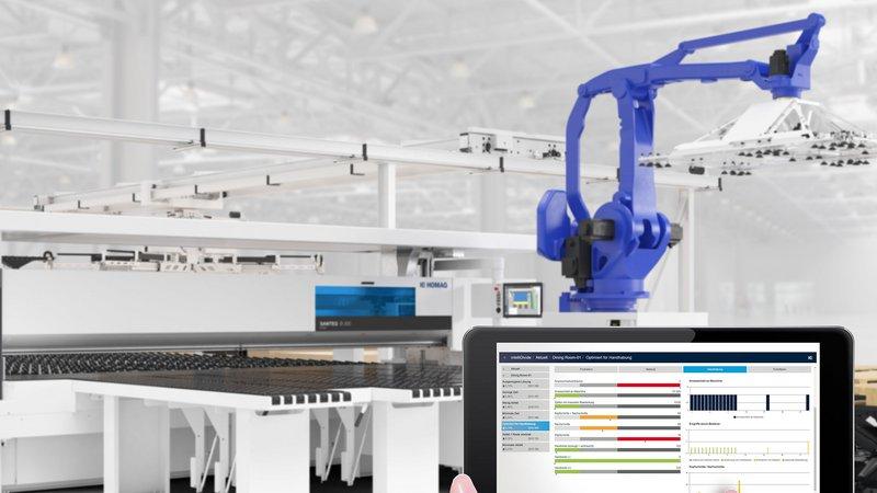 Automatyzacja w rzemiośle dalej się rozwija – dzięki innowacyjnym narzędziom firmy HOMAG takim jak intelliOptimizer Stacking