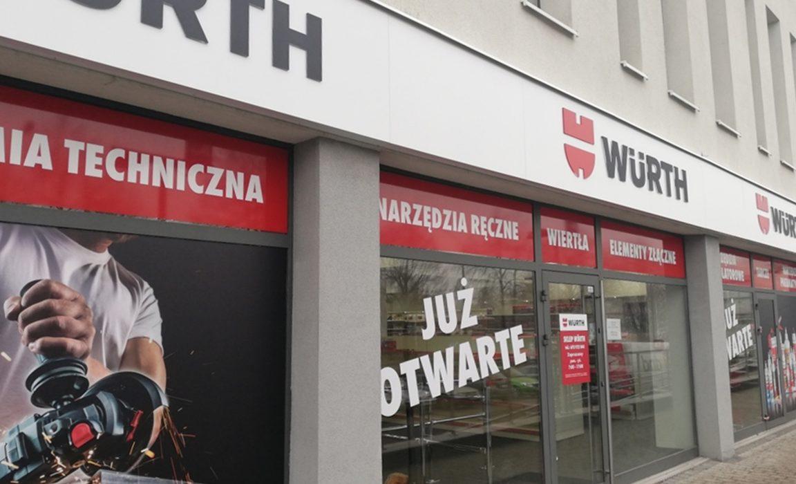 Würth Polska otworzył sklep stacjonarny w Dąbrowie Górniczej