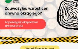 Zakaz eksportu drewna okrągłego z Unii Europejskiej
