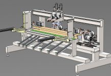 Maszyny mechanizujące procesy technologiczne