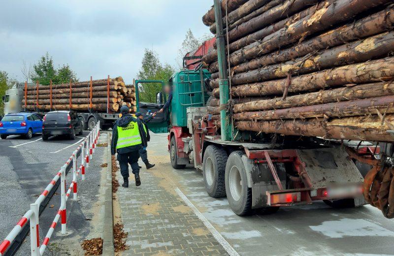 Za ciężkie transporty drewna